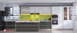 Tủ bếp Laminate – L25