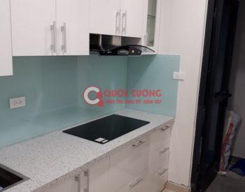 Công trình 33: Tủ bếp Song song Nhựa Picomat - Thùng HDF