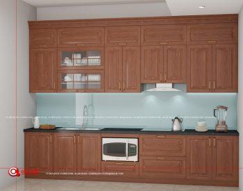 Tủ bếp Xoan Đào XD 021