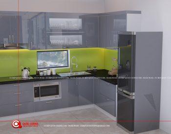 Tủ bếp Acrylic – AR 52