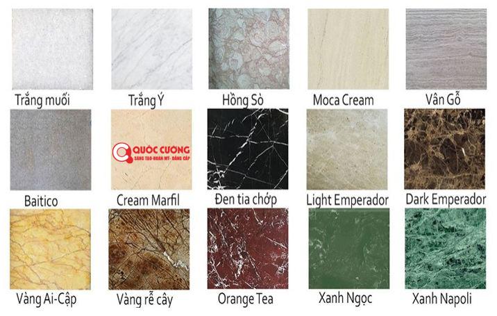 Đá ốp bàn bếp Granite tự nhiên