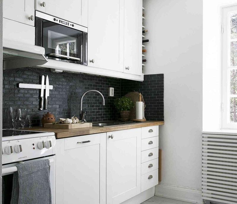 Thiết kế tủ bếp thông minh cho nhà bếp nhỏ